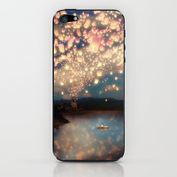 Love Wish Lanterns iPhone & iPod Skin by Belle13 | Society6