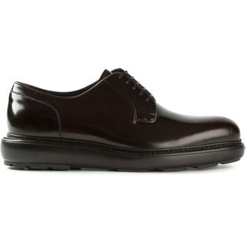 Salvatore Ferragamo platform derby shoes