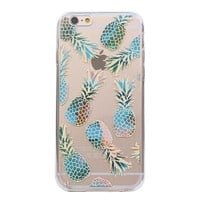 Juicy Blue Flame Pineapple Case for  iPhone