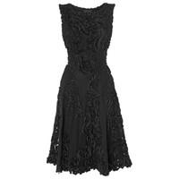 Buy Phase Eight Callula Fit and Flare Dress, Black online at John Lewis