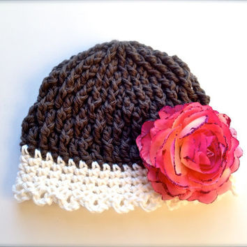 Crochet Pattern for Kamryn Beanie or Cloche Hat - 5 sizes, baby to adult - Welcome to sell finished items