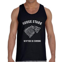 House Strak Winter Is Coming Game Of Thrones Houses Men Tank top