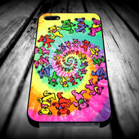 Grateful Dead Bears for iPhone 4/4s/5/5s/5c/6/6 Plus Case, Samsung Galaxy S3/S4/S5/Note 3/4 Case, iPod 4/5 Case, HtC One M7 M8 and Nexus Case ***