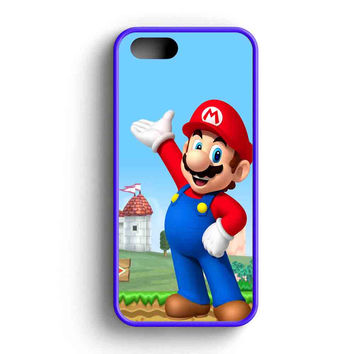 Mario And Princess Peach Right  iPhone 5 Case iPhone 5s Case iPhone 5c Case