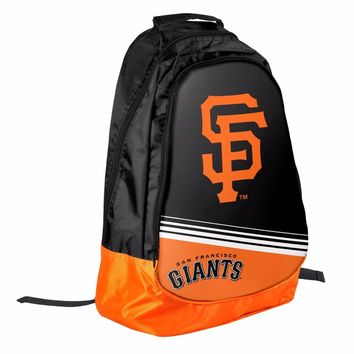 San Francisco Giants BackPack / Back Pack Book Bag NEW - TEAM COLORS Core Stripe