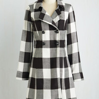 Vintage Inspired Long Long Sleeve Double Breasted Staten Island Sweetheart Coat