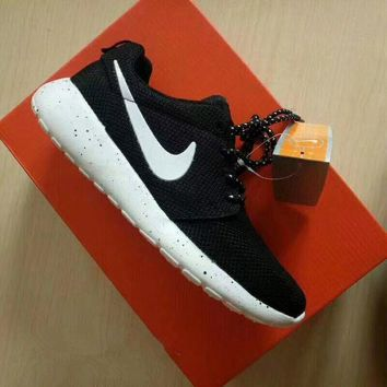 """Nike Roshe Run"" Sport Casual Unisex Galaxy Sneakers Couple Running Shoes"