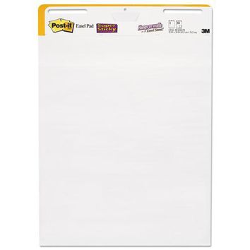 Post-it® Easel Pads Super Sticky Self-Stick Wall Pad