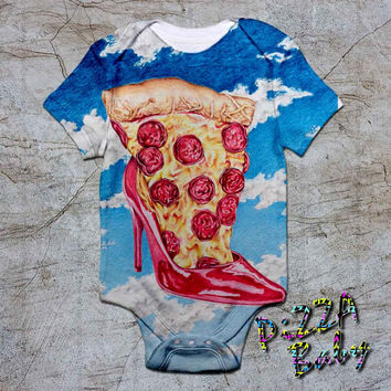 Just Pizza baby Onesuit, baby romper,baby jumpsuit