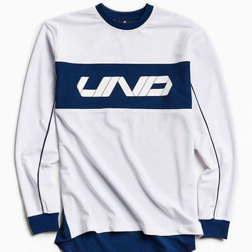 Undefeated Pique Long Sleeve Jersey - Urban Outfitters