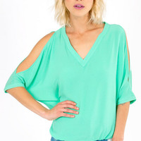 Cut To The Chase Top $48
