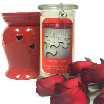 You Complete Me! - Valentine's Day Jewelry Candle