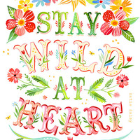 Wild at Heart - Vertical Print