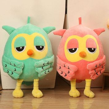 Cute Owl Plush Toys Soft Stuffed Animal Doll For Baby Kids Birthday Gift Toy