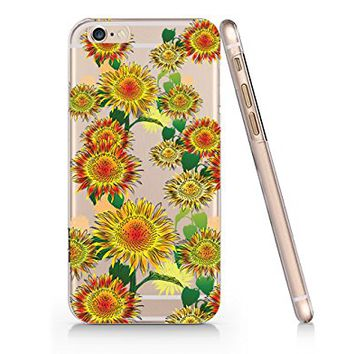 Flower Pattern Slim Iphone 6 Case, Clear Iphone 6 6S Hard Cover Case For Apple Iphone 6/6S -Emerishop (iphone 6)