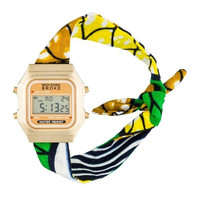 Gold Abidjan Watch