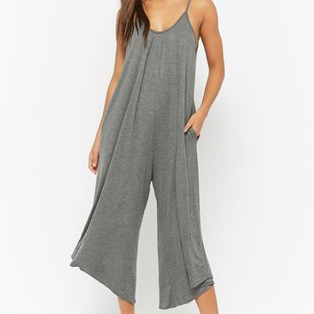 Scoop Neck Wide-Leg Jumpsuit