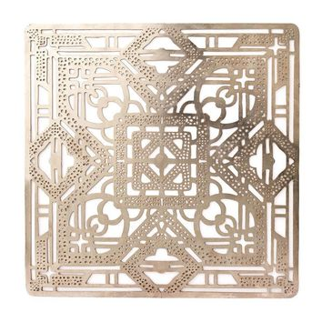 FILIGREE PLACEMAT S/4 | SILVER