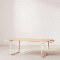 Carlton Wooden Coffee Table | Urban Outfitters