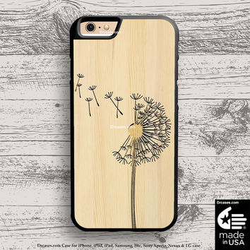 dandelions Floral case for iphone 5s 6s case, samsung, ipod, HTC, Xperia, Nexus, LG, iPad Cases