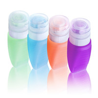 4 Pcs. Travel Cosmetics Bottle Set