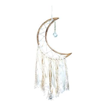Small Moon Dream Catcher