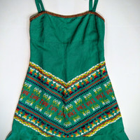 Free people dress with embroidery size small -.