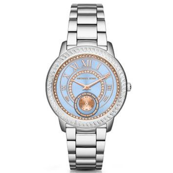Madelyn Pavé Silver-Tone Watch | Michael Kors