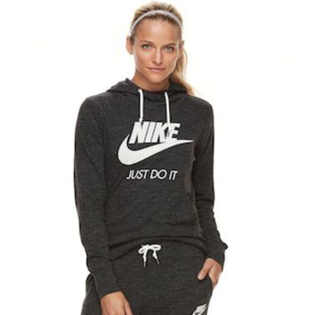 ESB7GX Women's Nike Sportswear Gym Vintage Long Sleeve Graphic Hoodie | null