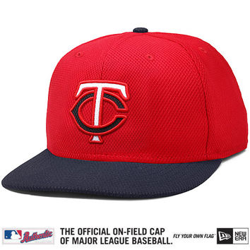 Minnesota Twins Authentic Collection Diamond Era 59FIFTY Road Cap - MLB.com Shop