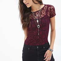 Floral Lace Tee