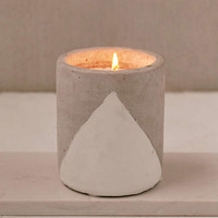 Paddywax Large Concrete Candle | Urban Outfitters