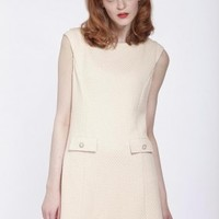 Twiggy Dress (Cream)