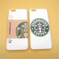 Starbuck Coffee PHONE Cover Skin for Apple iPhone 6 6s plus 5.5'' Ultra Thin Hard Phone Case Shell