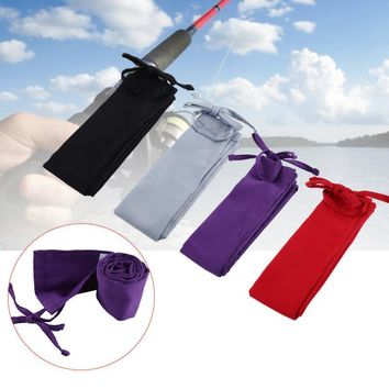 Fishing Rod Bag Sleeve Protector Pole Sock Glove Pouch Fishing Rod Cover Bag