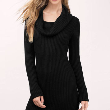 Mellie Cowl Sweater Dress