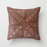 "Trip to Morocco Throw Pillow by Lisa ""Kenzi"" Butterworth"