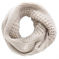 By The Fire Infinity Scarf in Ivory | Monday Dress Boutique