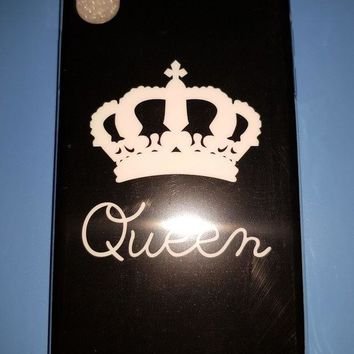 VONE6YT COVER PER APPLE IPHONE X BACK CASE SILICONE QUEEN