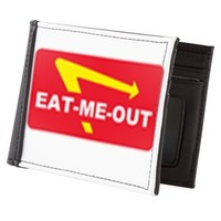 eat me out Mens Wallet