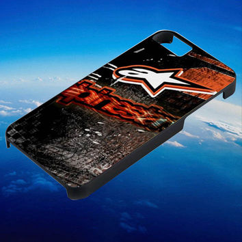 Alpinestars Motox Freestyle motocross Biker for iPhone 4/4s/5/5s/5c/6/6 Plus Case, Samsung Galaxy S3/S4/S5/Note 3/4 Case, iPod 4/5 Case, HtC One M7 M8 and Nexus Case ***