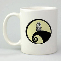 little minion disney nightmare before christmas  design for mug, ceramic, awesome, good,amazing