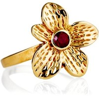 14K Ruby Fleur Ring, Stone & Novelty Rings