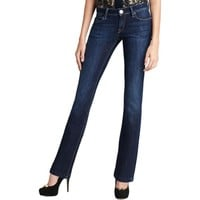 DL1961 Womens Cindy Stretch Low-Rise Slim Bootcut Jeans