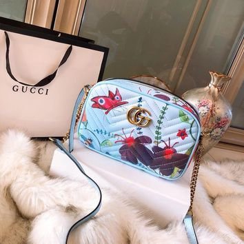 Gucci Gg Marmont Small Shoulder Bag #1385