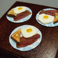 Miniature Breakfast Platter - Blue Plate Series