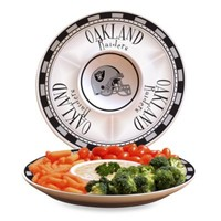 NFL Oakland Raiders Game Day Chip and Dip Server