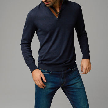 TURTLENECK JACQUARD SWEATER - View all - Sweaters & Cardigans - MEN - United States of America / Estados Unidos de América