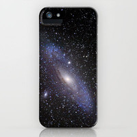 Galaxy Andromeda iPhone Case by Guido Montañés | Society6