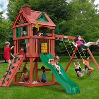 Gorilla Playsets Nantucket Wooden Swing Set